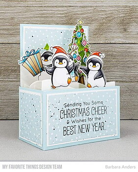MY FAVORITE THINGS -BB Holiday Penguins Die-namics