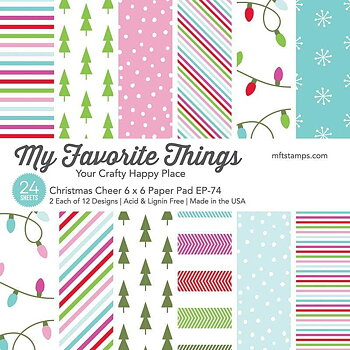 MY FAVORITE THINGS -Christmas Cheer Paper Pad