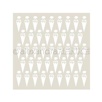 ALEXANDRA RENKE -Stencil 'Sugar bag'