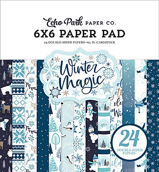 Echo Park Winter Magic 6x6 Inch Paper Pad