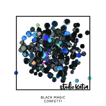 STUDIO KATIA-BLACK MAGIC CONFETTI