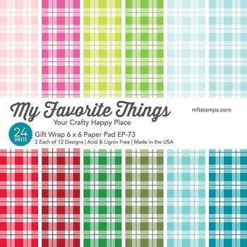 MY FAVORITE THINGS -Gift Wrap Paper Pad