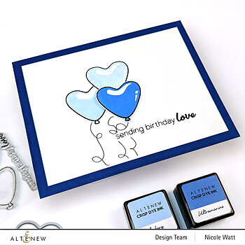 ALTENEW -Mini Delight: Birthday Love Stamp & Die Set