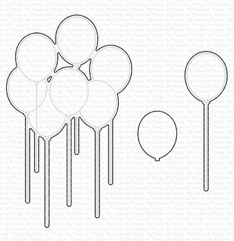 MY FAVORITE THINGS -Balloon Bouquet Die-namics