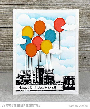 MY FAVORITE THINGS -Balloon Bouquet Die-namics