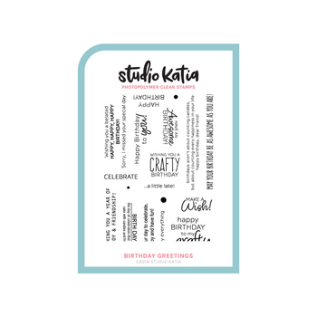 STUDIO KATIA-BIRTHDAY GREETINGS