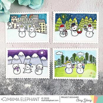 MAMA ELEPHANT-LITTLE SNOWMAN AGENDA