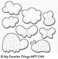MY FAVORITE THINGS-Love Bugs STAMP & DIE SET