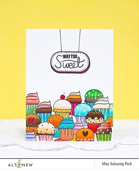 ALTENEW-Way Too Sweet Stamp Set