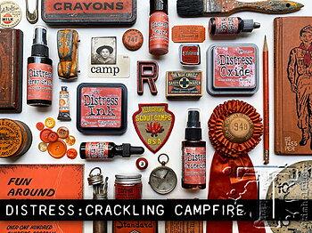 RANGER Tim Holtz Distress Ink Pad - CRACKLING CAMPFIRE