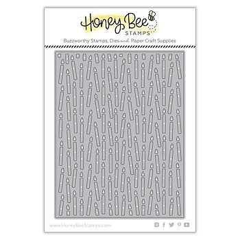 HONEY BEE STAMPS-Candle Cover Plate | Honey Cuts