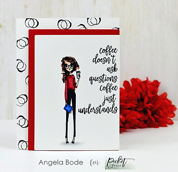 PICKET FENCE STUDIOS -Coffee Understands Stamp Set