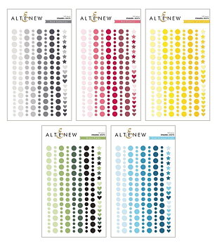 ALTENEW-Year-Round Color Release Enamel Dots Bundle
