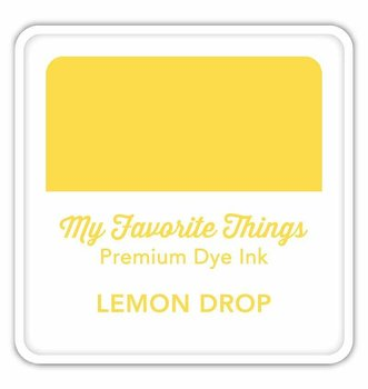MY FAVORITE THINGS  Premium Dye Ink Cube Lemon Drop