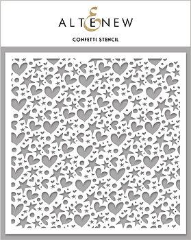 ALTENEW -Confetti Stencil