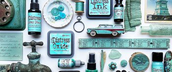 Tim Holtz Distress Oxide Ink Pad 2021 New April SALVAGED PATINA