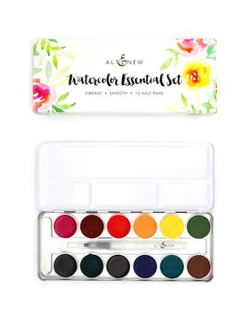 ALTENEW -Watercolor Essential 12 Pan Set