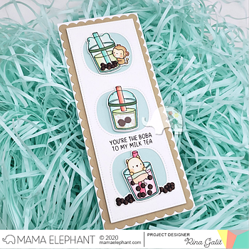 MAMA ELEPHANT-SLIM CARD BASICS - CREATIVE CUTS