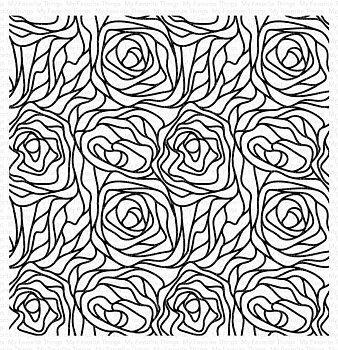 My Favorite Things -Abstract Roses Background