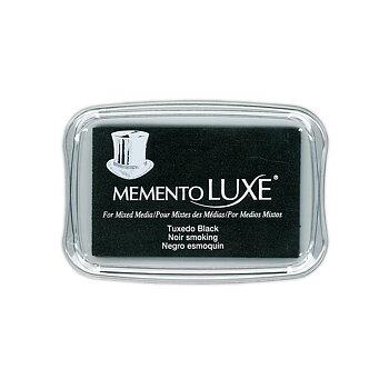 Tsukineko • Memento Luxe 9x6cm Tuxedo Black
