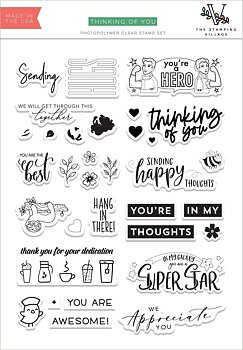 Thinking of You Stamp Set by The Stamping Village