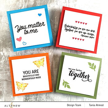We Stand With You Stamp Set by the Stamping Village