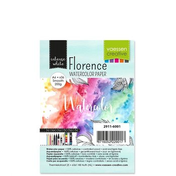 Florence • Watercolor paper smooth White 200g A6 36pcs