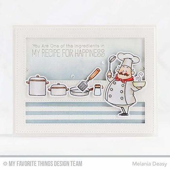MY FAVORITE THINGS-BB Recipe for Happiness Die-namics