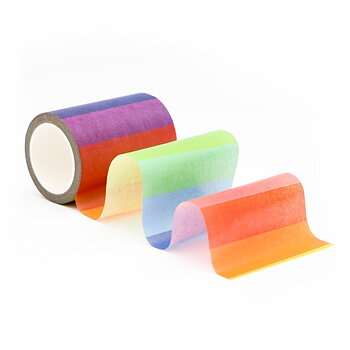 ALTENEW-Block Rainbow Washi Tape