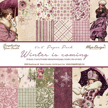 MAJA DESIGN Winter is coming - Paper Pack