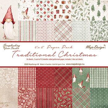 MAJA DESIGN Traditional Christmas - Paper Pack