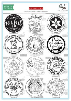 ALTENEW-Holiday Seals Stamp Set by The Stamping Village