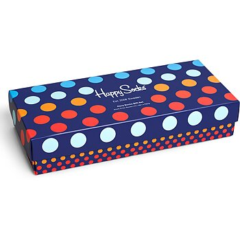 Happy Socks Blue box 4par