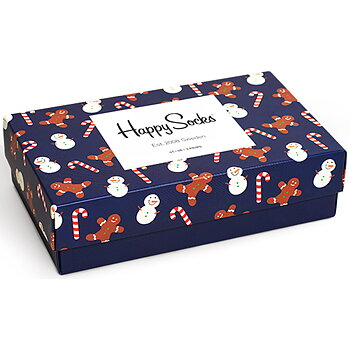 Happy Socks Ginger Box 3par