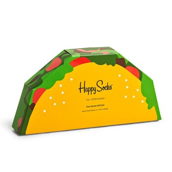 Happy Socks Taco Box 2par