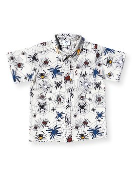 SHIRT s/s WITH COLLAR HAPPY SPIDER