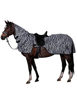 HorseGuard ZEBRA insekts-skrittäcke XS