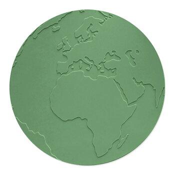 Underlägg Atlas Gröngrå