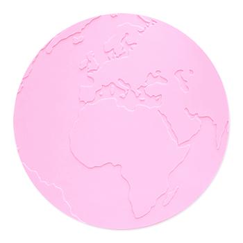 Underlägg Atlas Ljusrosa