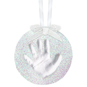 Babyprints babyprints glitter ornament 1p