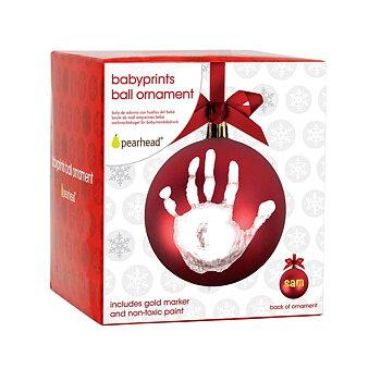 Babyprints Julkula Hand- och Fotavtryck