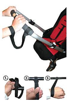 Handledsrem för barnvagnen