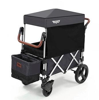 Keenz - Stroller Wagon 7S Grå