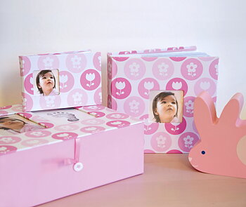 Minnes Box Rosa