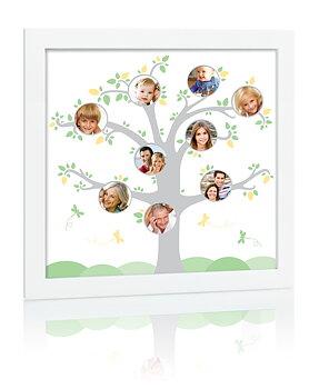 Familjeträd Ram Vit