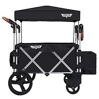 Keenz - Stroller Wagon 7S Svart