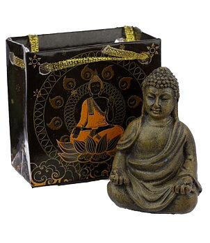 Woodstyle Amitabha Buddha in Bag - Meditation