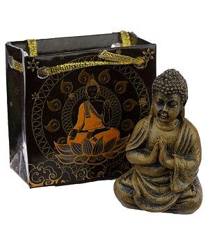 Woodstyle Amitabha Buddha in Bag - Namaste