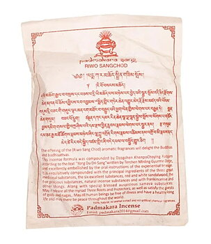 Tibetan Incense Powder - Riwo Sangchod, 100-120g