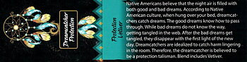 Incense Sticks Native Spirits - Dreamcatcher Protection VETIVER